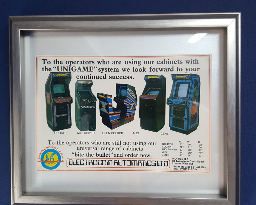 electrocoin cabinets flyer