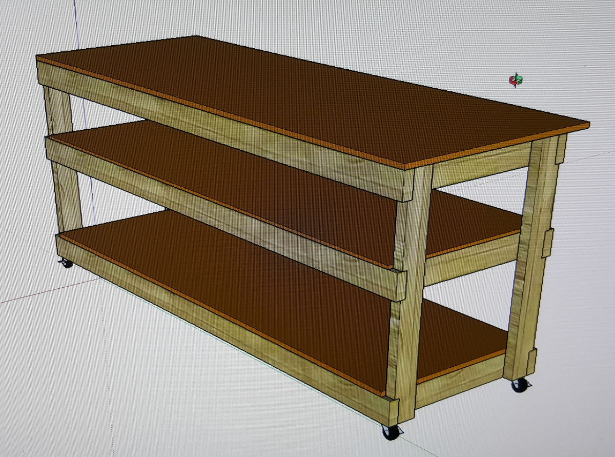 workbench sketchup plan