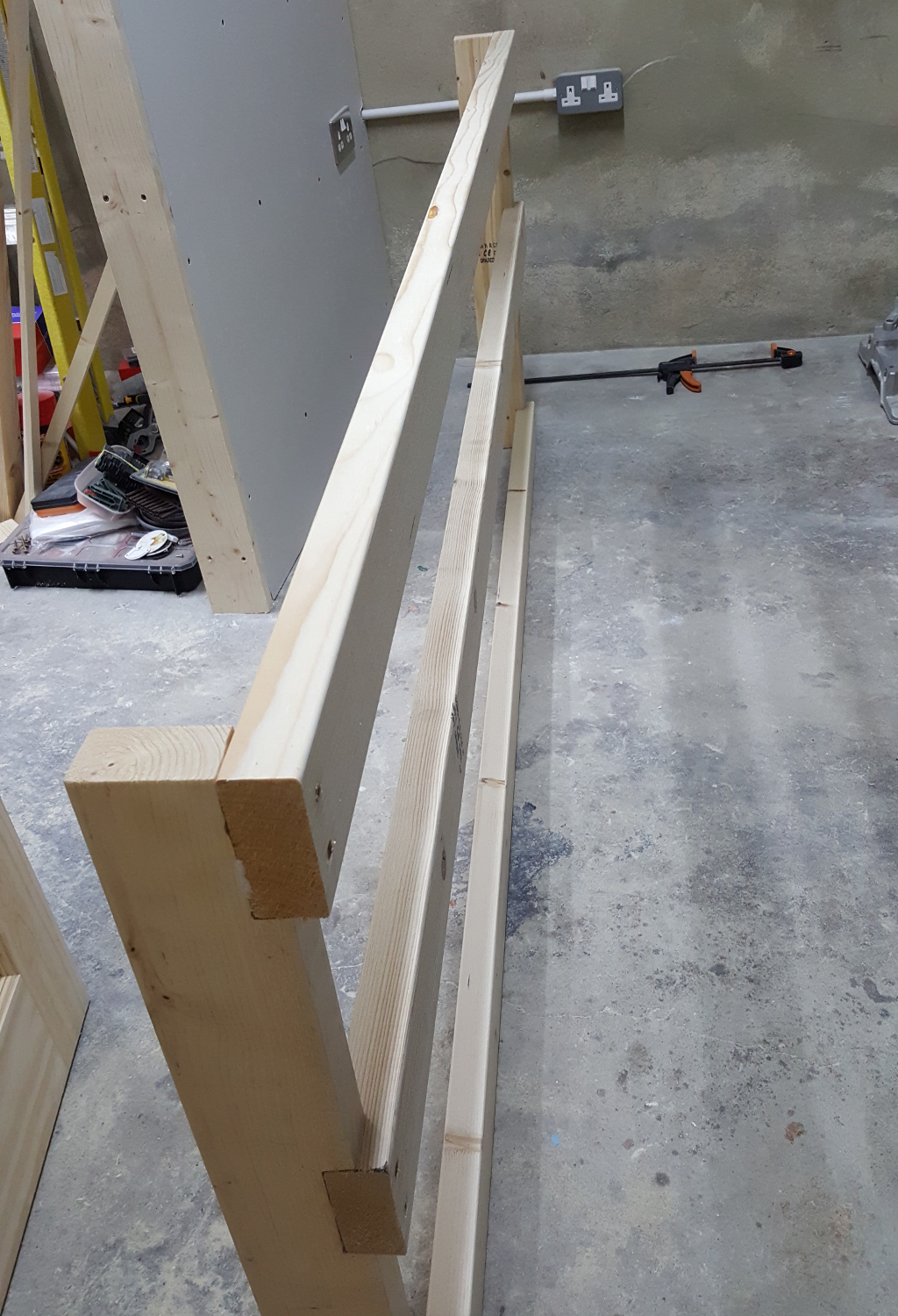 workbench frame side 1