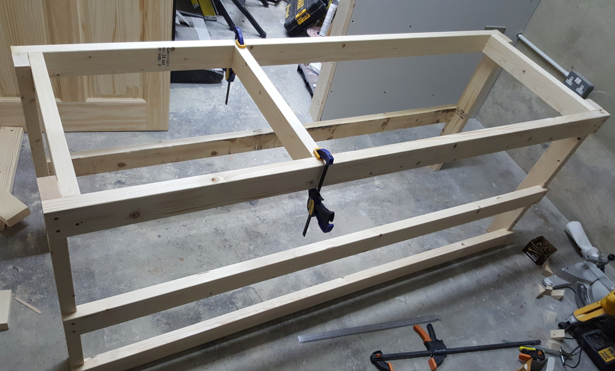 workbench frame side 2