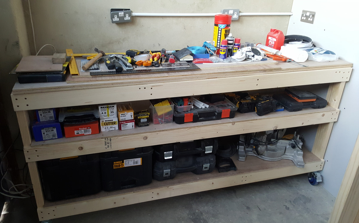 do the tools fit in the workbench